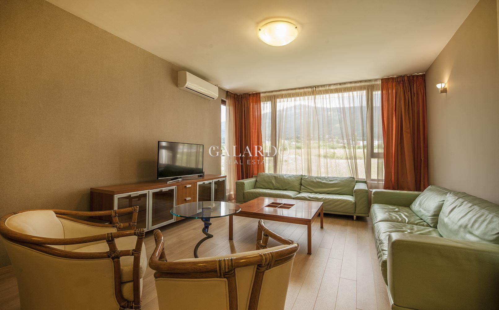 Three bedroom apartment in a gated community with a wonderful view to Vitosha Mountain