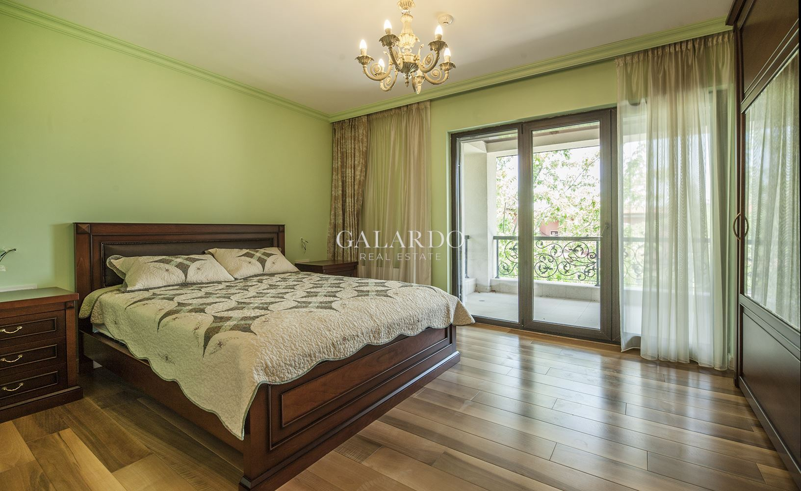House for sale in a gated complex