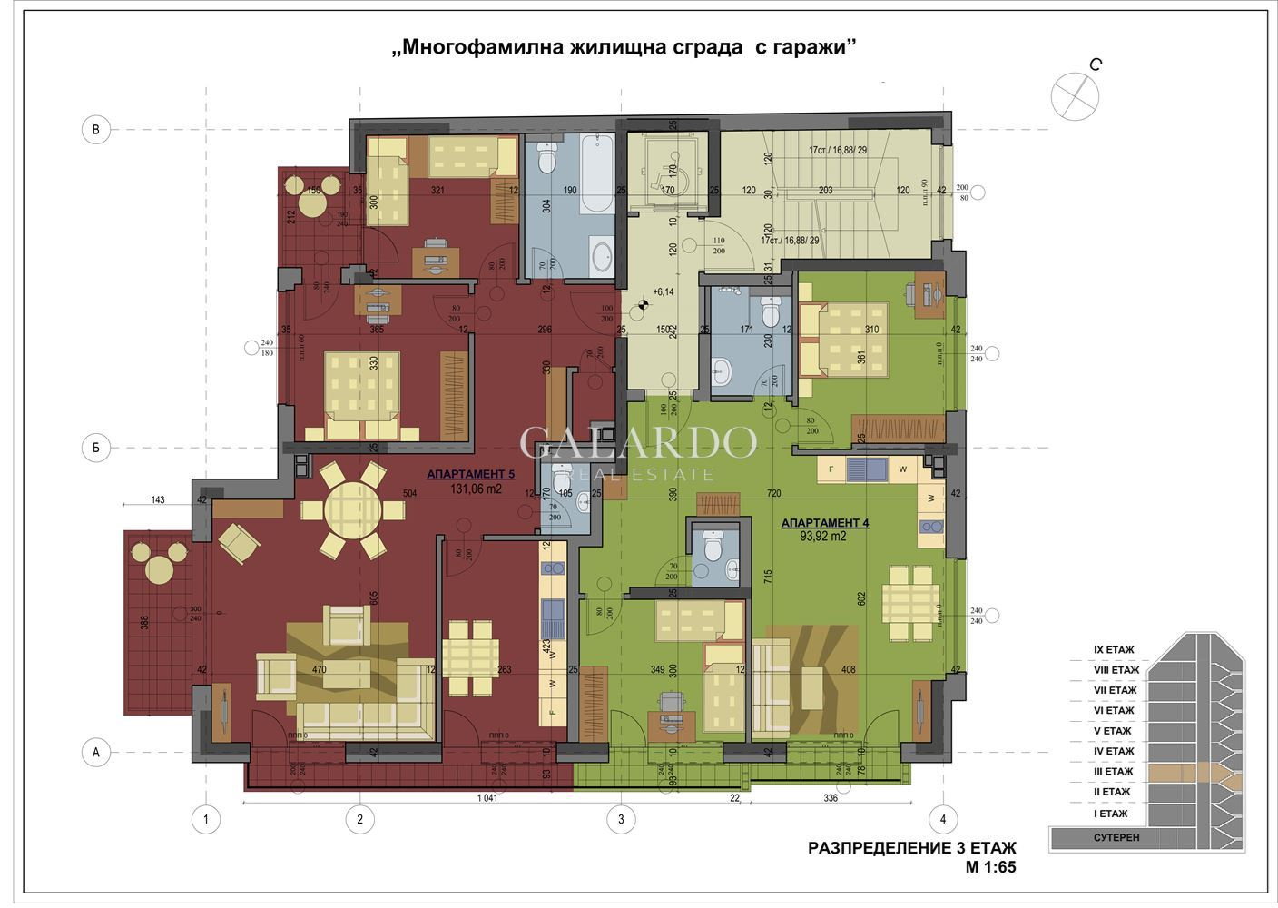 2 Bedrooms in Sofia city center