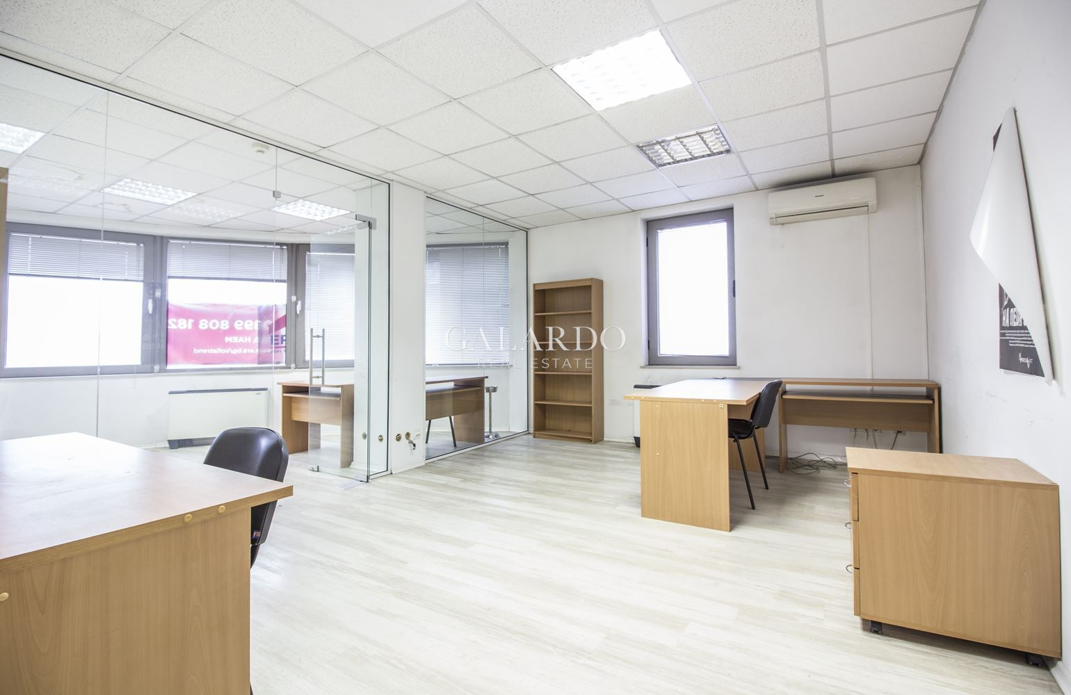 Office near the National Palace of Culture