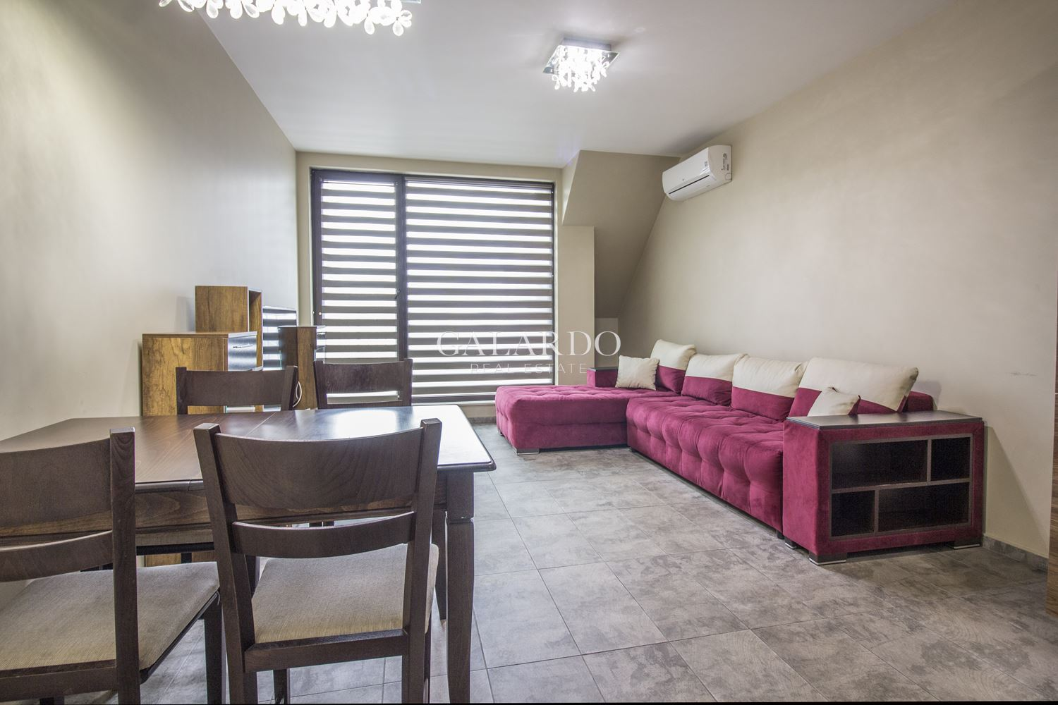 Furnished luxury apartment in the heart of Sofia. The apartment is for rent fully furnished and equipped.