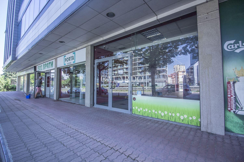 Shop facing Bulgaria Blvd.