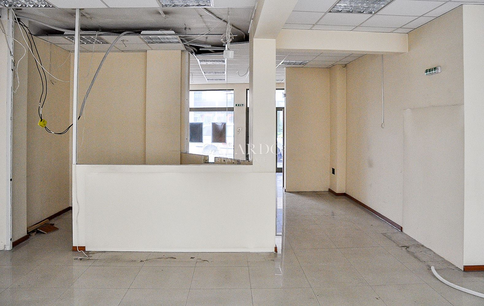 Ground floor office space next to City Center