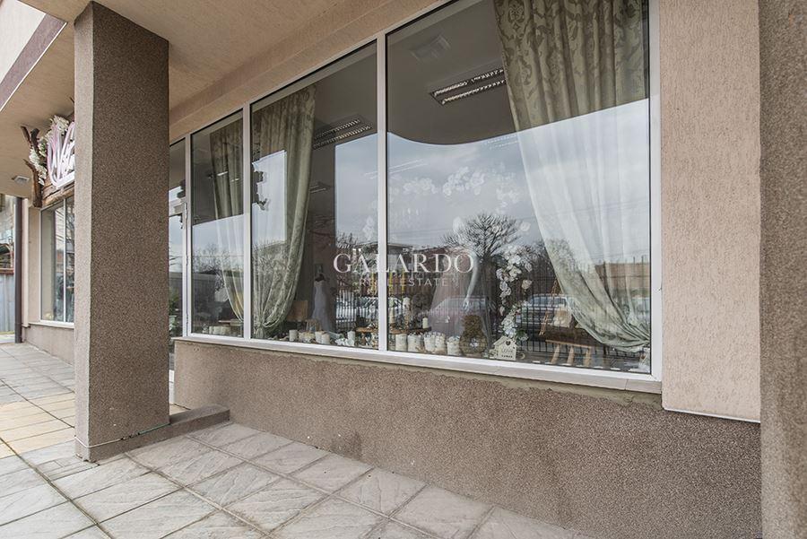 Магазин в новопостроена сграда в кв. Манастирски ливади